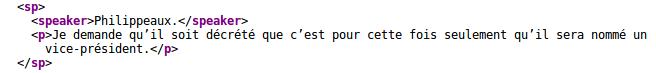 Exemple XML ANRF